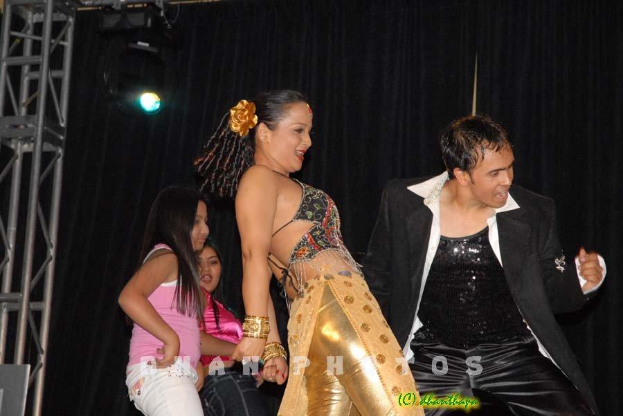 NAVIN KC - dance with saranga 1