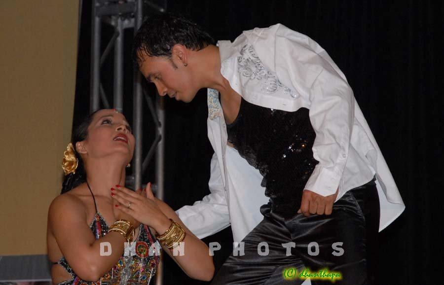 NAVIN KC - dance with saranga 2