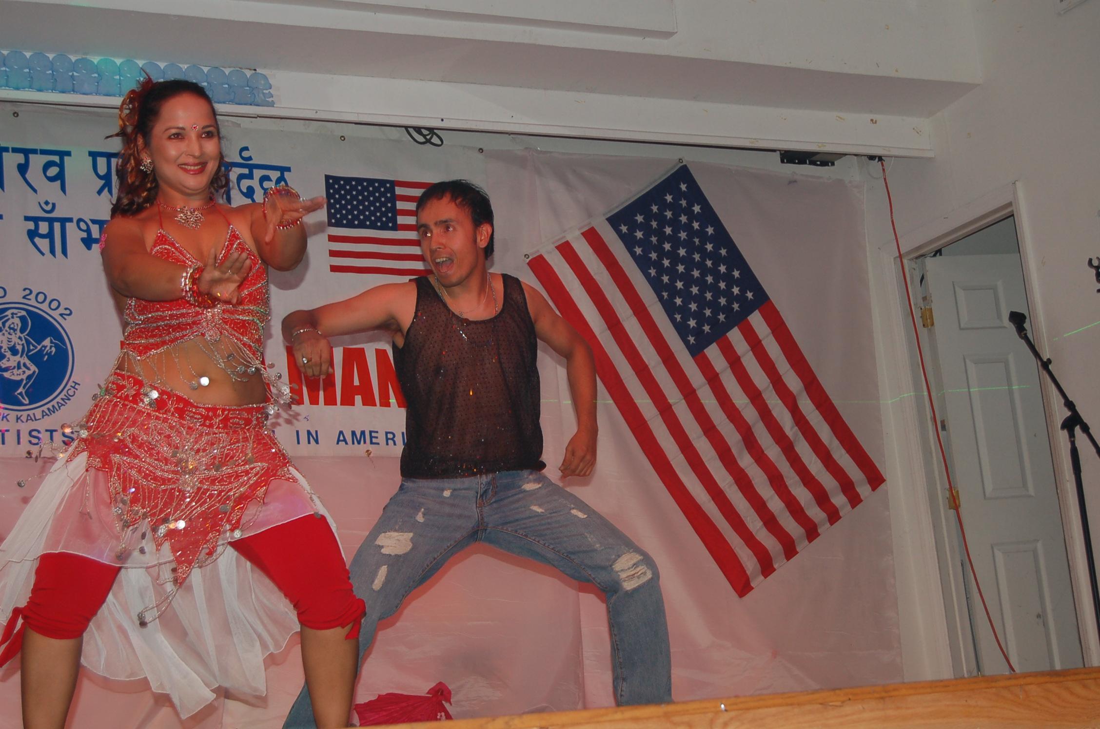 NAVIN KC - dance with saranga 3